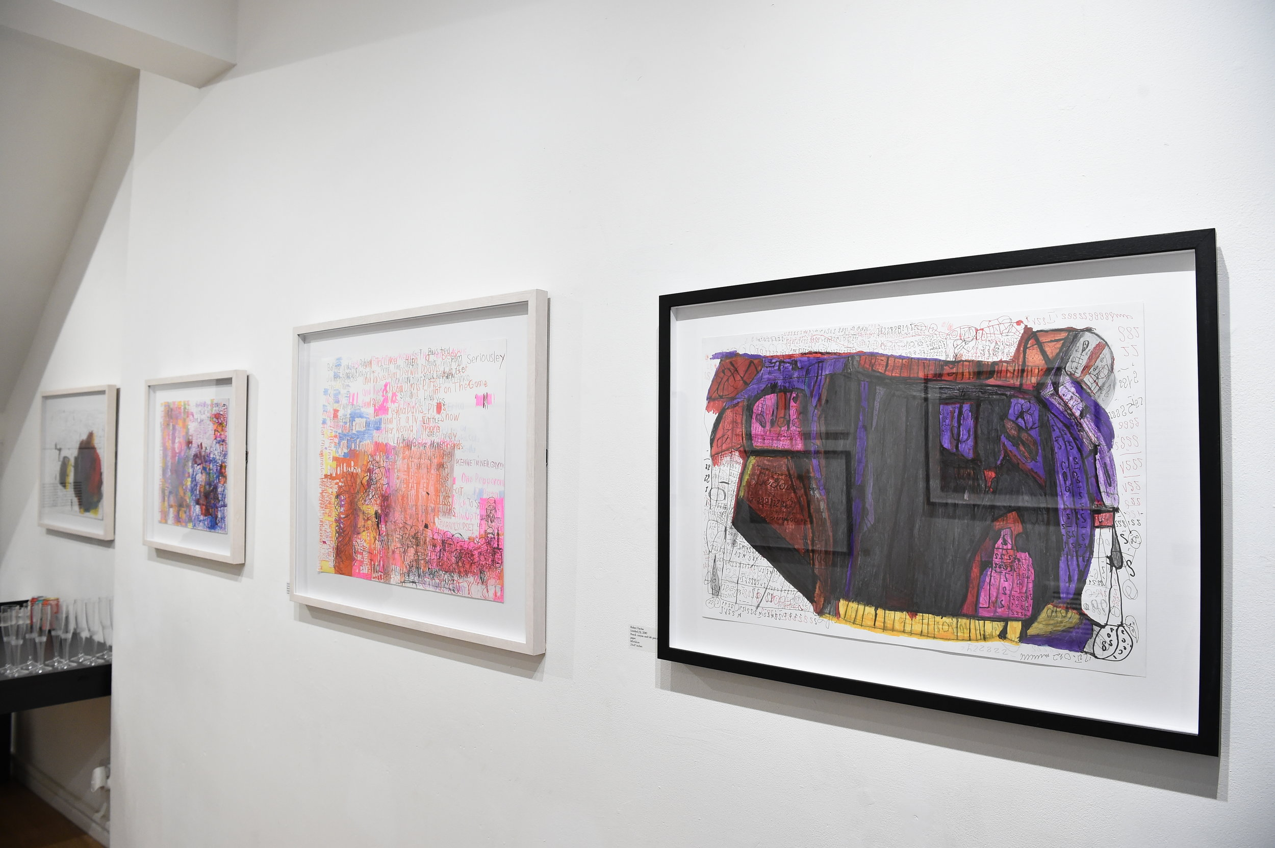 Installation shot of Thoughts and Utterances Photo by Andrew Hood