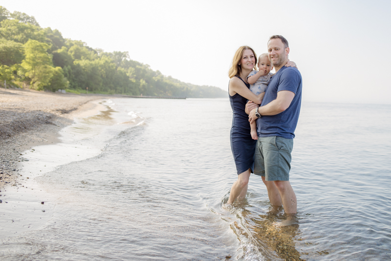 Beach outing | Chicago North Shore Family Photography