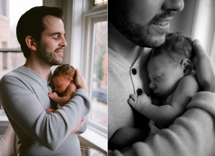 Love is in the Air | Chicago Newborn Photography