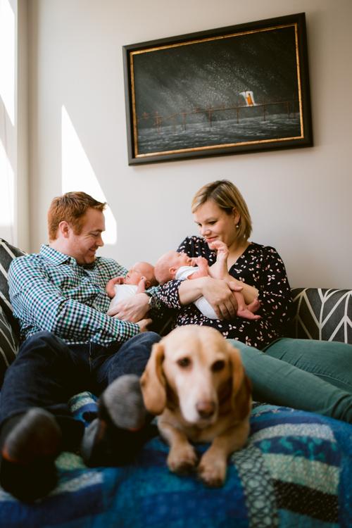 Twice the Joy | Chicago Newborn Photography