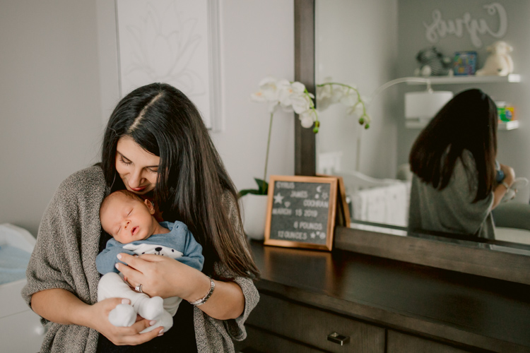 Baby CJ | Chicago Newborn Photography