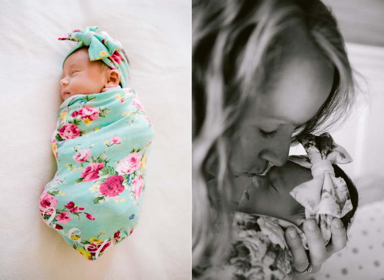 In Home Lifestyle Session | Chicago Newborn Photographer