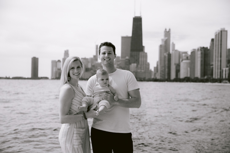 Family Portraits With a View | Chicago Family Photography