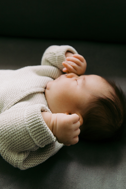 Sweet Dreams Baby | Chicago Lifestyle Newborn Photography