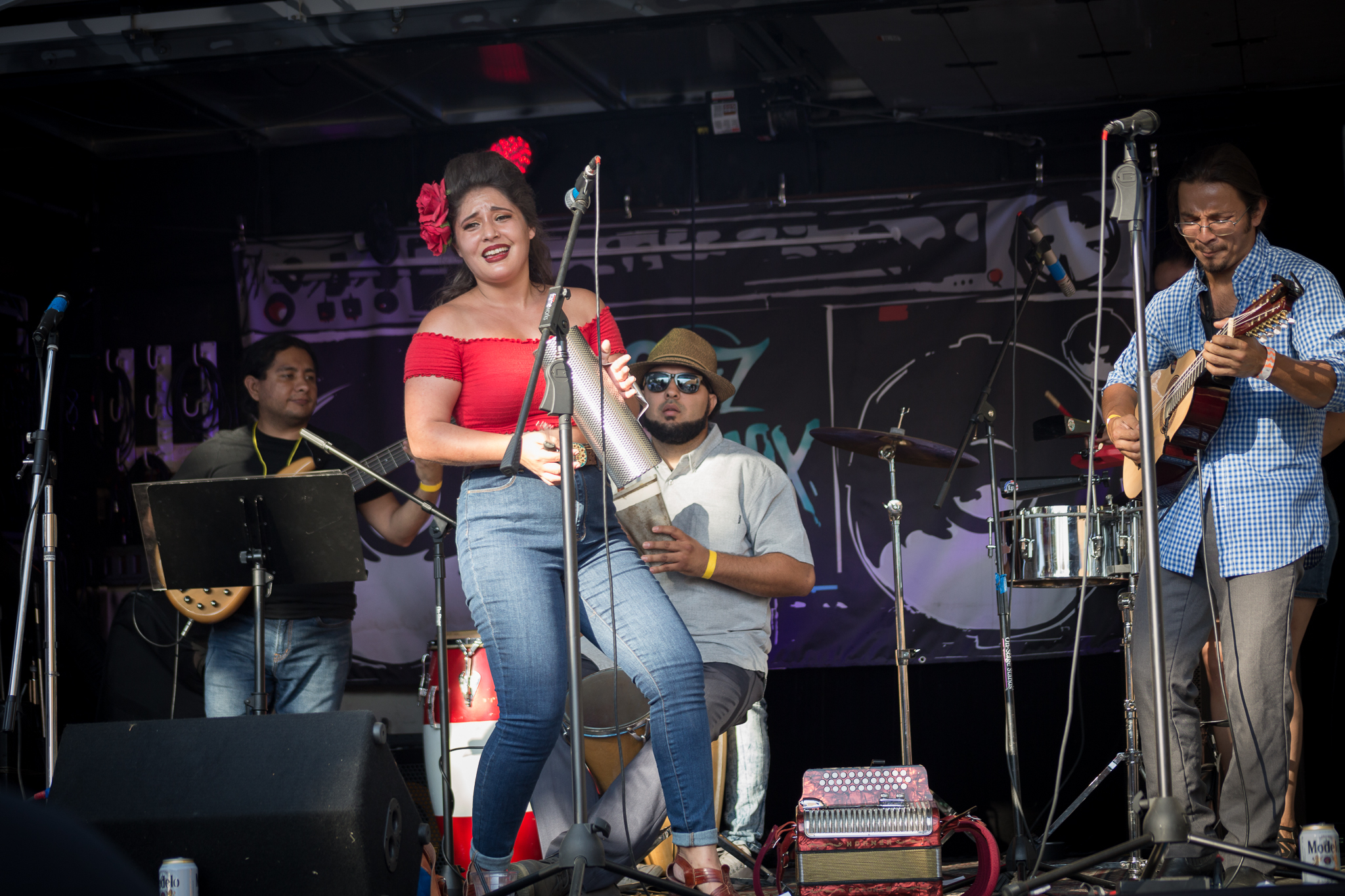 Sonido Clash Music Fest curates a line-up that is driven by Latinx identifying artists. Photo by Paolo Riveros.