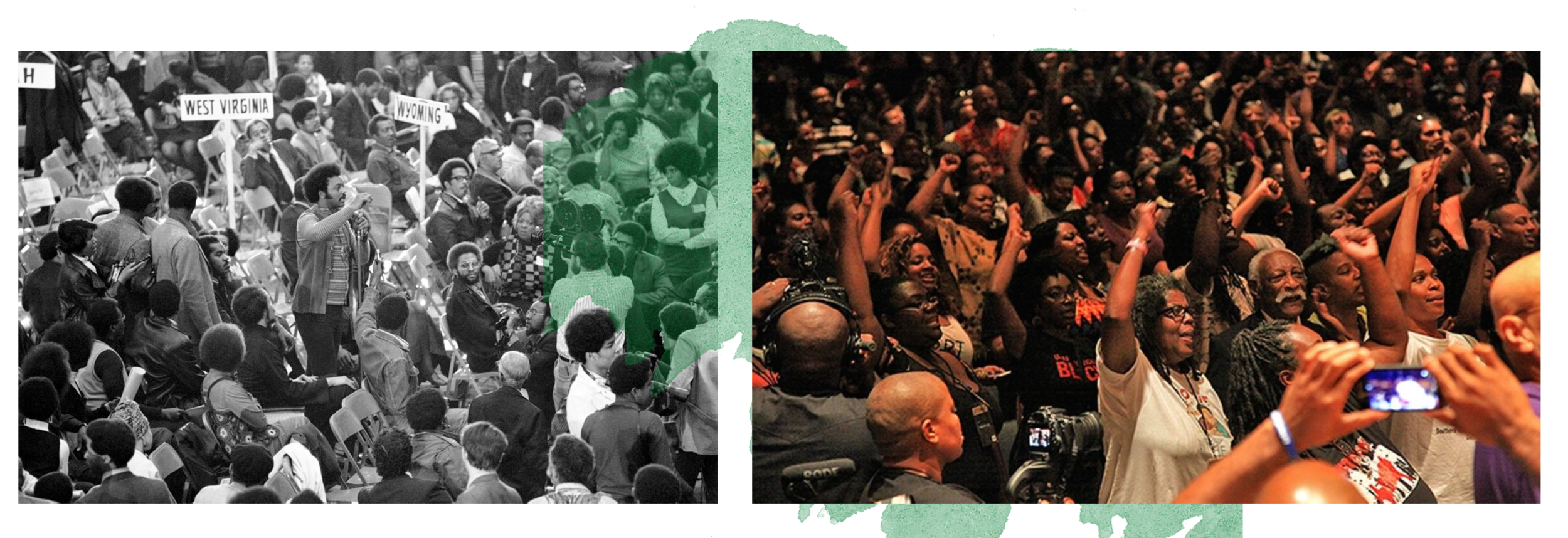 1972 National Black Political Convention (Gary, IN) & 2015 Movement for Black Lives Convening (Cleveland, OH)