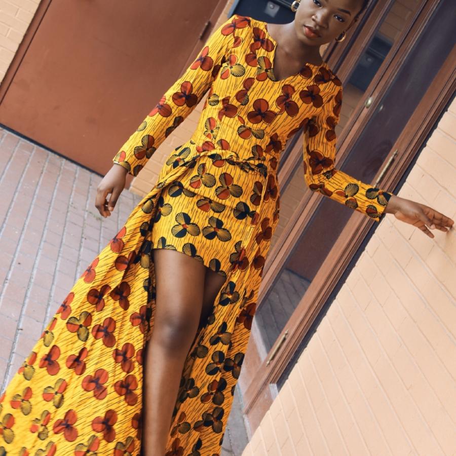 ankara nigerian fashion dress