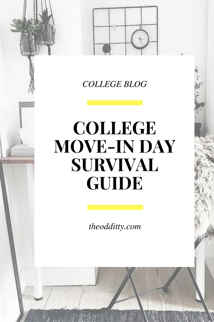 College Move-In day survival guide