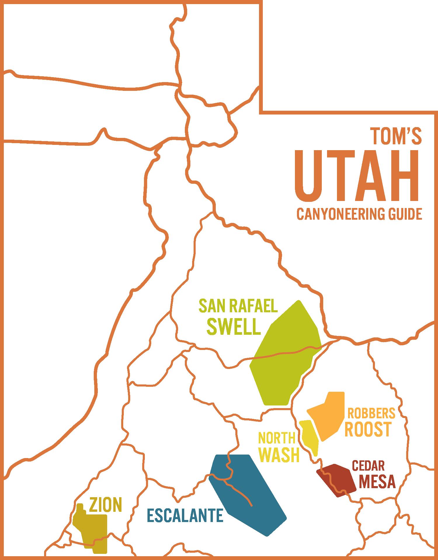 CUSA Utah Map