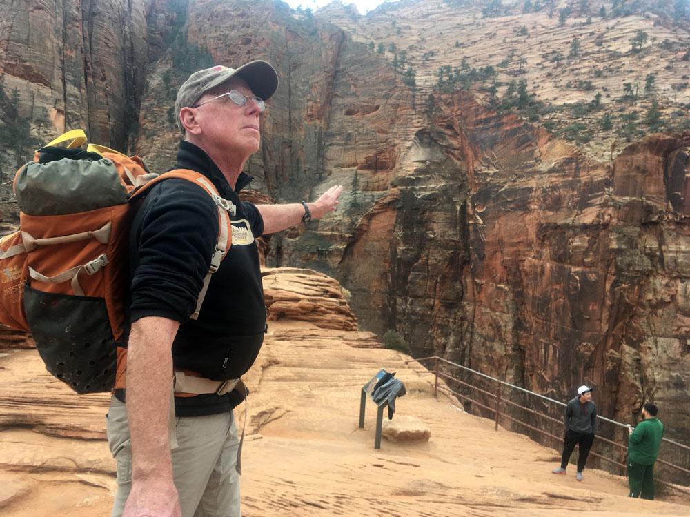 Look! Canyon Overlook!