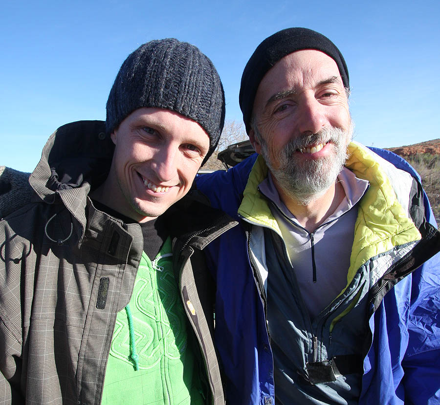 Fiends for the day - Eric Godfrey and Steve Ramras (Glen Canyon)