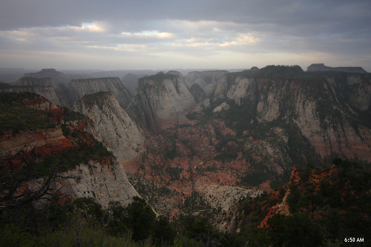 Mmmm. A little too threatening for the BIG PROJECT. How about the classic consolation prize, Telephone Canyon? (Zion)