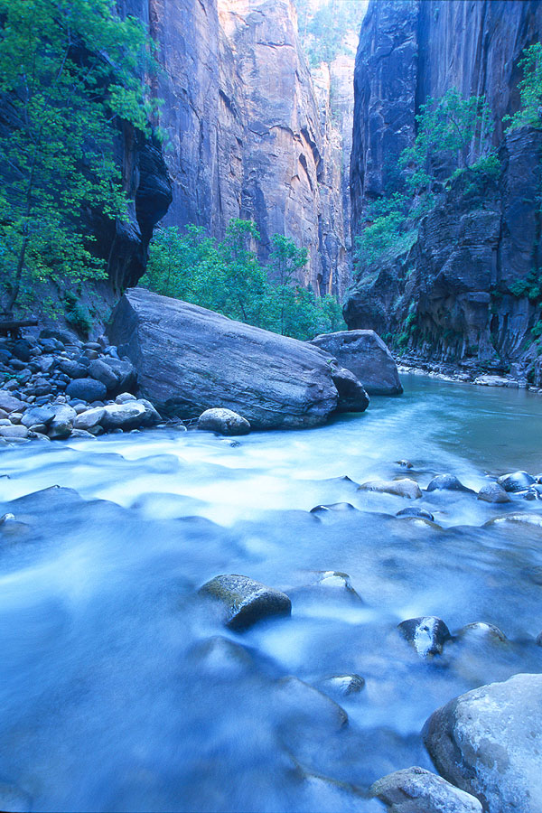 #0047 Rock in the Narrows - One of the Best (Zion)