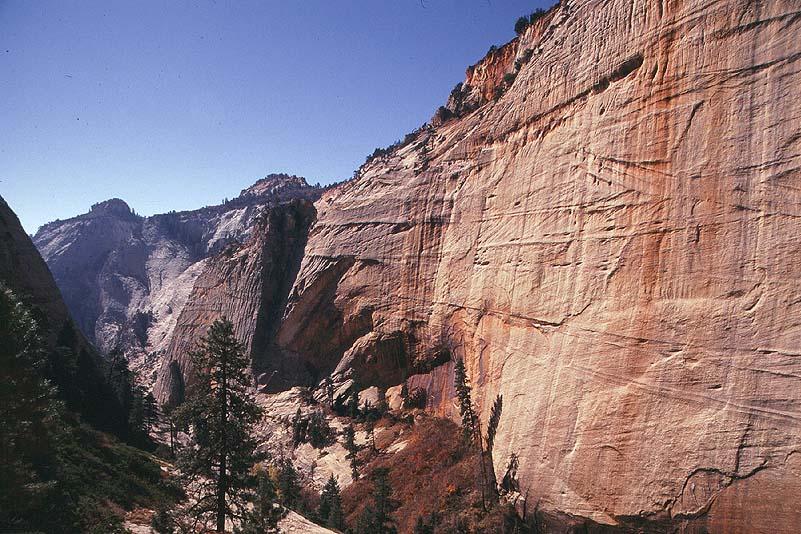 #9933 Behunin Canyon from Behunin Pass (Zion)