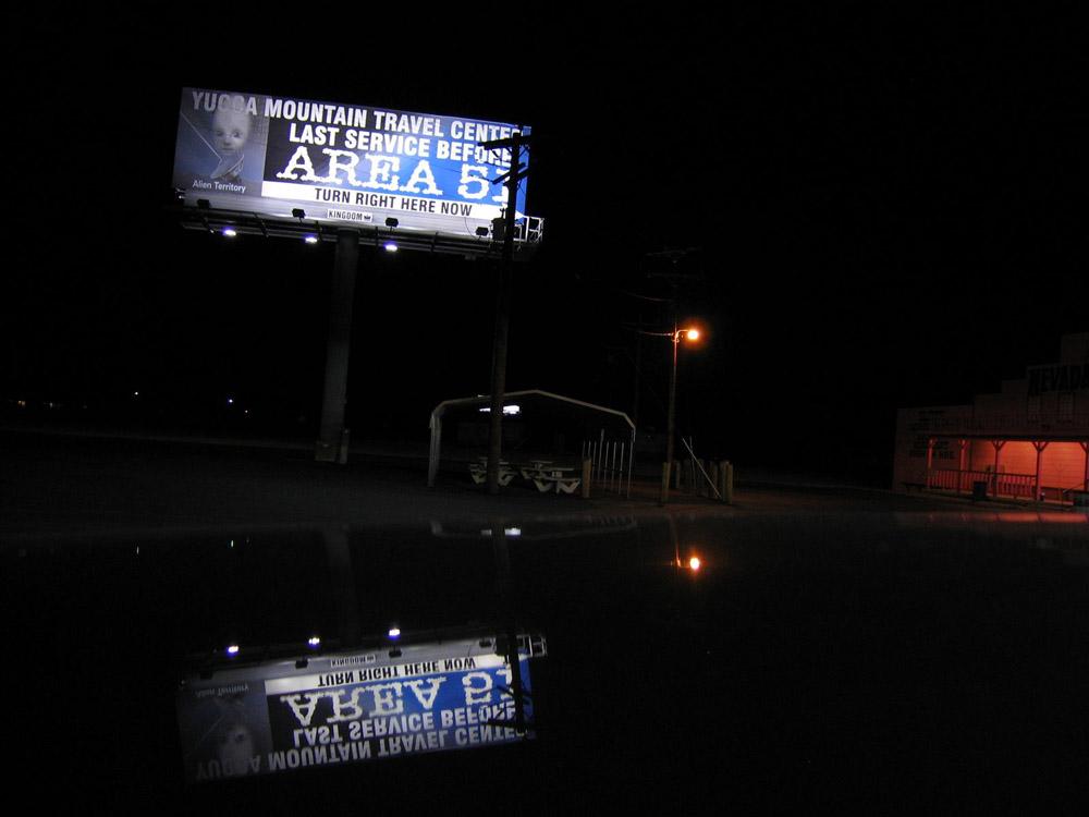 Last Billboard before Death... (Death Valley)