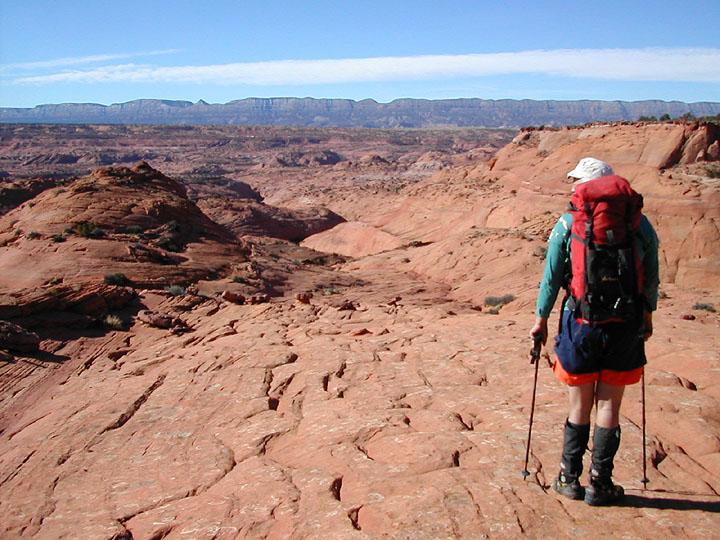 Ramrass enjoys the view to Fifty Mile Mountain. (Egypt Two)