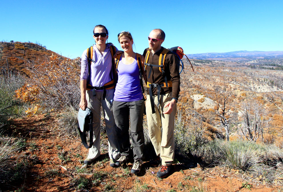 The Team - Anne, Rylin and Eric