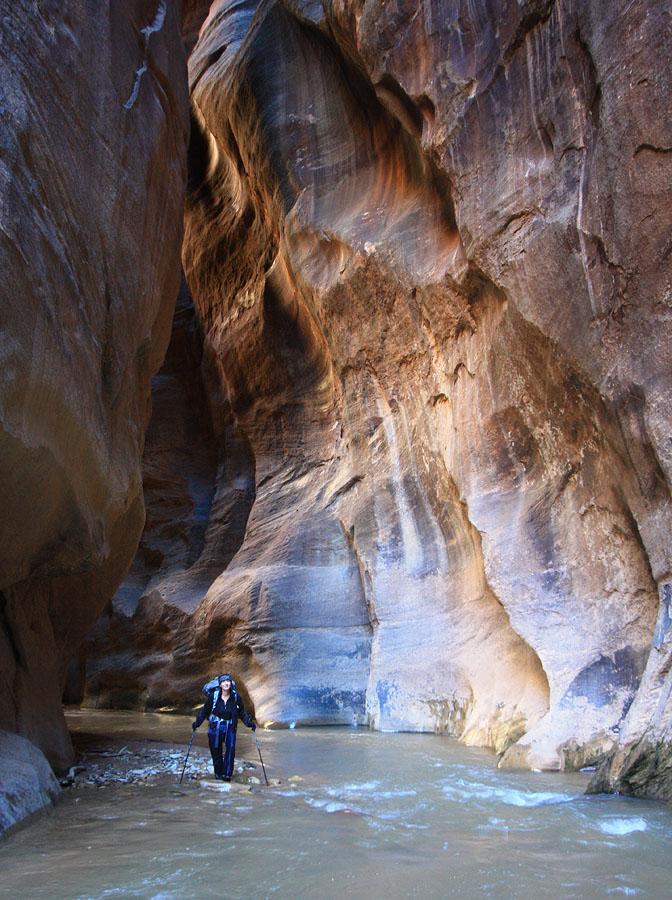 Below Misery Canyon