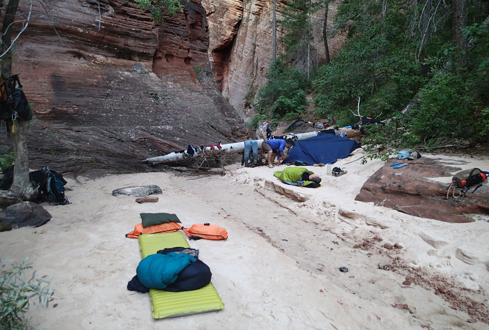 Bivy at the Crossroads