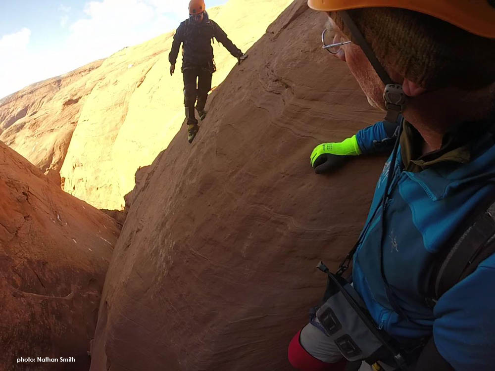 Not as steep as it looks...