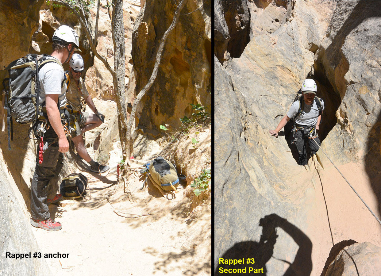 two stages of Rappel 3