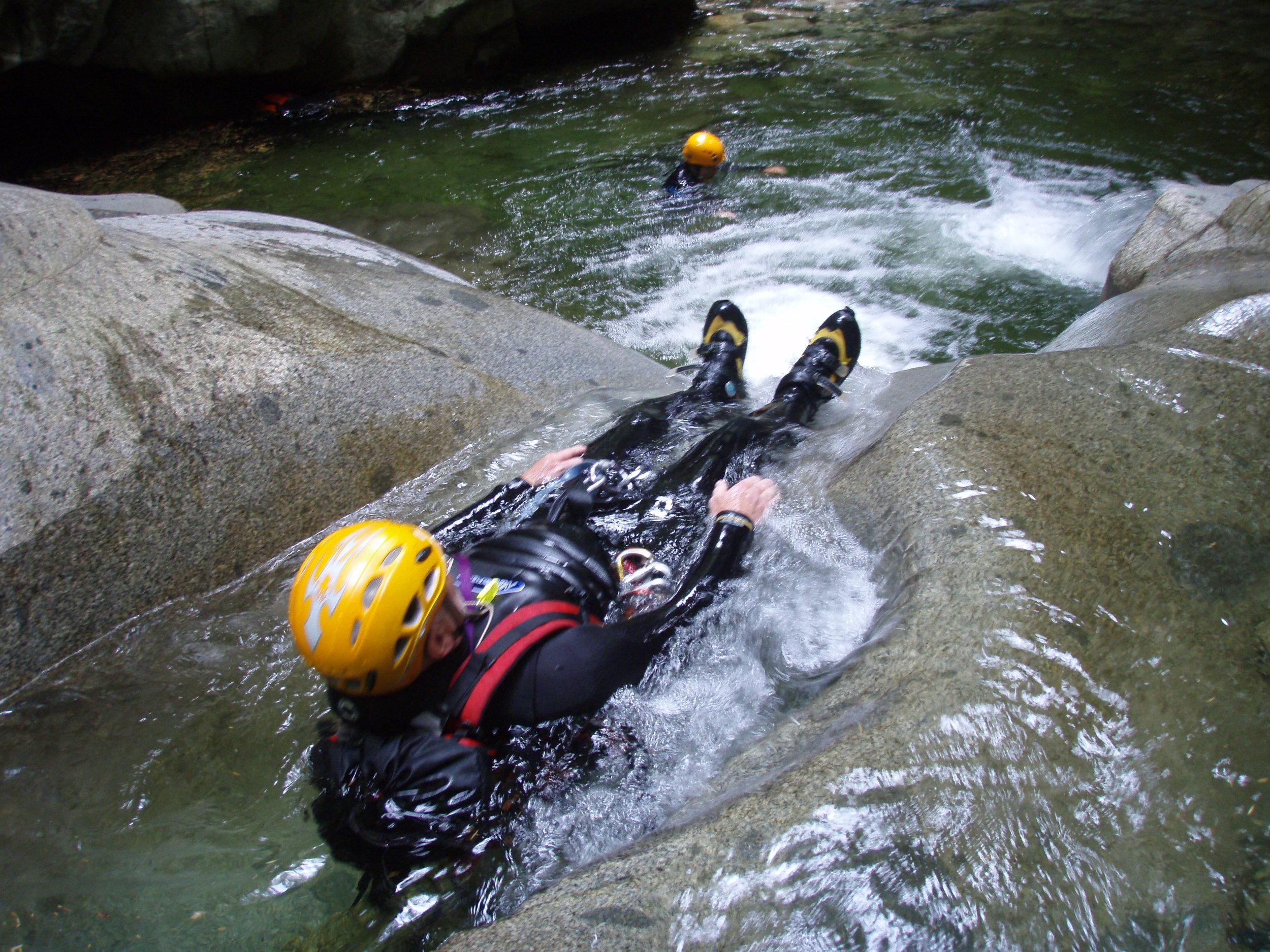 Canyoneering: it's not climbing - Navigating pools while safely managing ropes and rappels is a canyoneering-specific skill. Just because someone knows how to climb does not make them a qualified canyoneer.