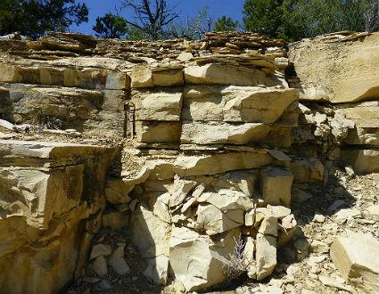 Carmel Outcrop - image courtesy NPS.