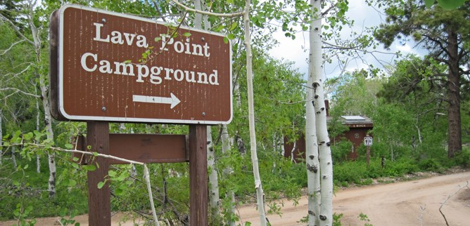 Lava Point Campground, Zion NP