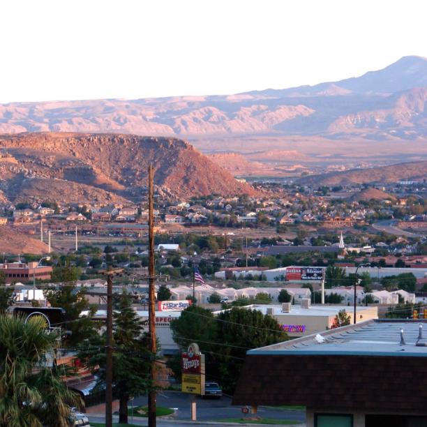 St. George Utah; image via Wikimedia Commons