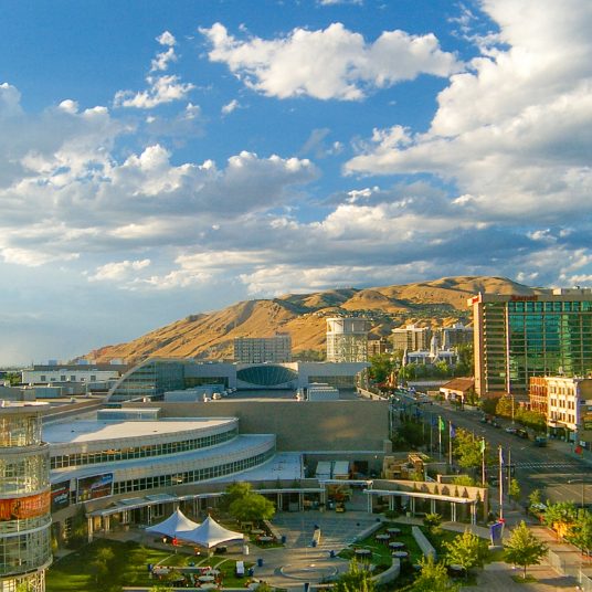 Salt Lake City, Utah - photo courtesy Wikimedia Commons