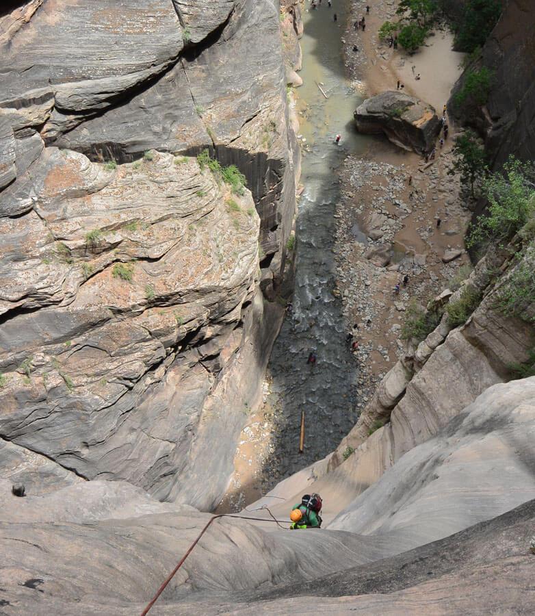 Descending into The Narrows