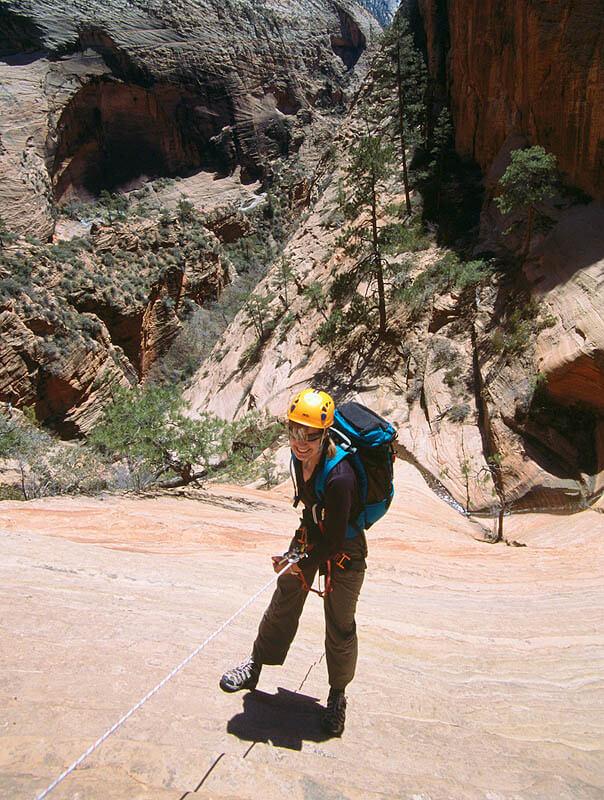 Behunin Canyon rappel - Zion National Park
