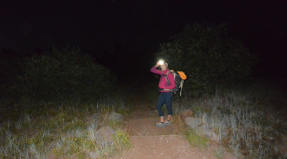 5:40 am – Let's Hike!