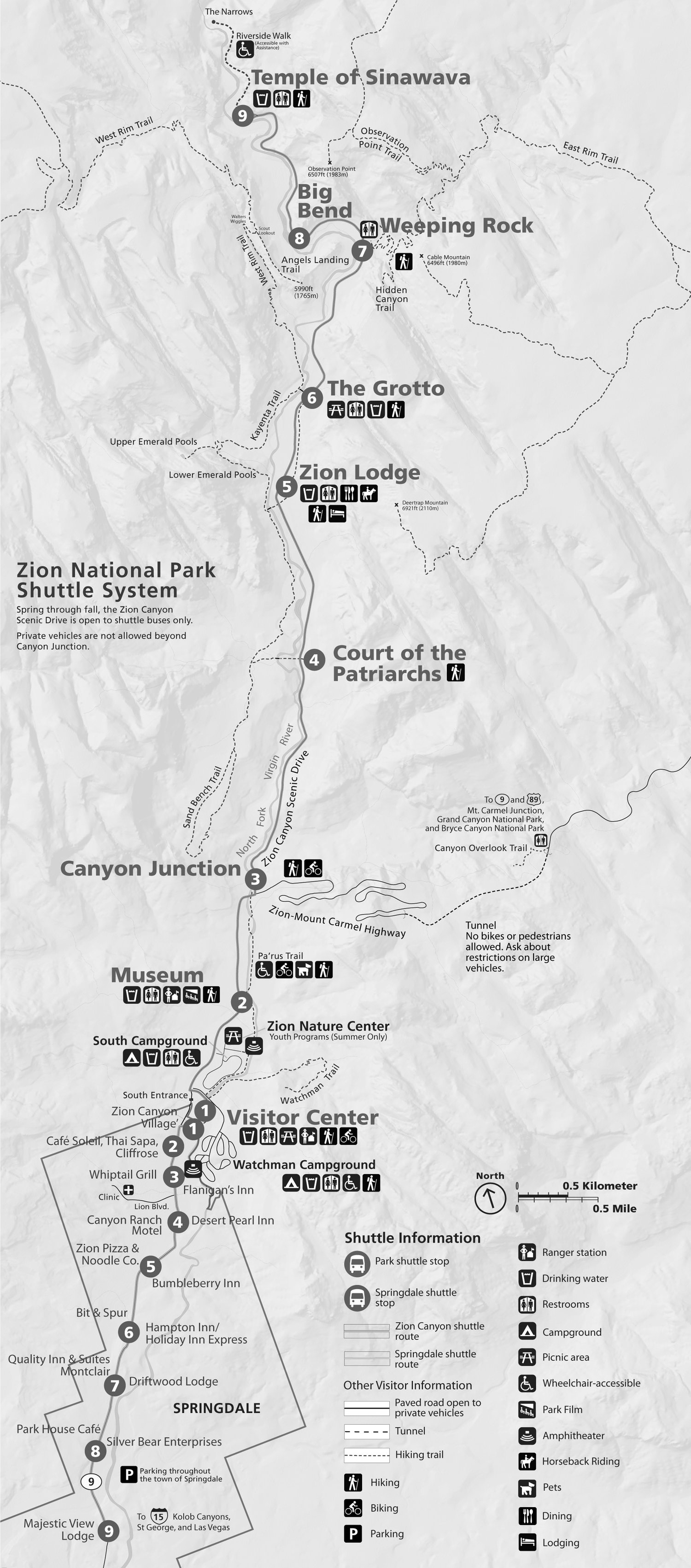 Trailhead Shuttle Map & Schedule for Springdale & Zion Canyon on westmont map, bryce canyon map, arches national park map, black canyon of the gunnison map, armageddon map, coral pink sand dunes map, denali map, grand staircase escalante national monument map, deerfield map, grand canyon trail map, gilgal map, ravinia map, the narrows map, fairfield map, naval station great lakes map, ancient israel map, gates of the arctic map, evanston map, woodstock map, dekalb map,