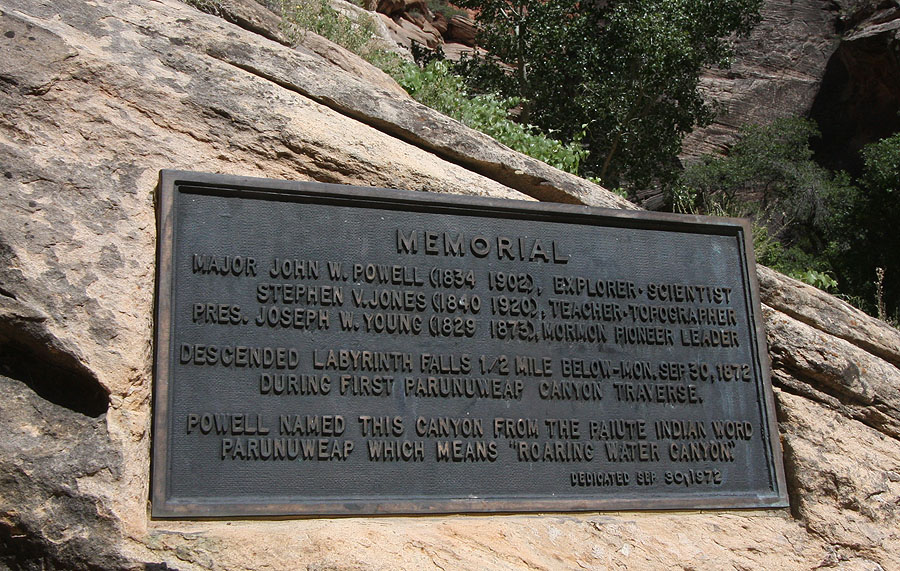 The Powell Plaque