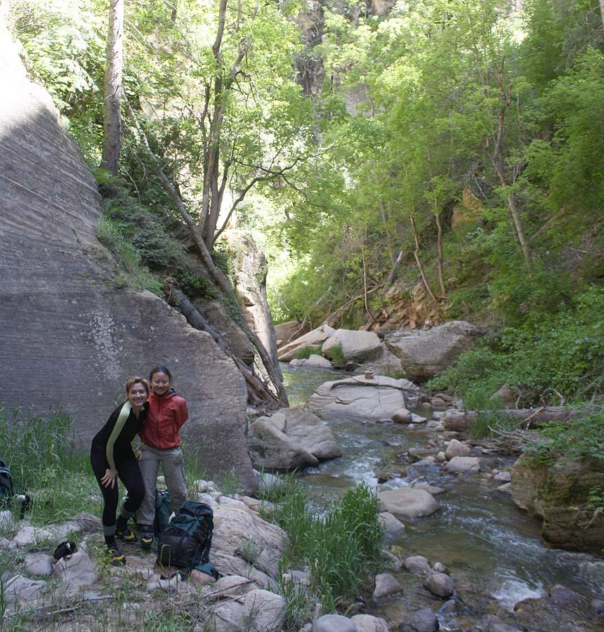Kolob Canyon scene.