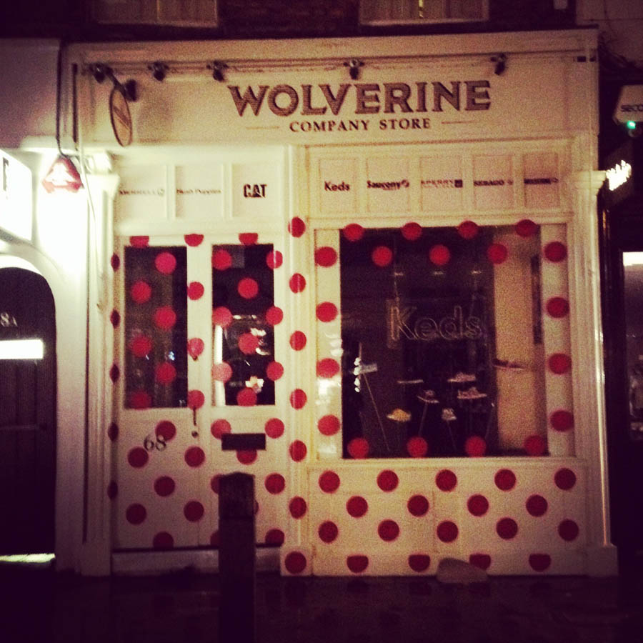 Wolverine in London has a real fun exterior and very simple application