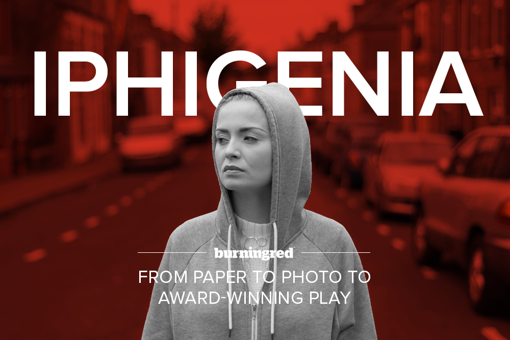 Iphigenia in Splott - from paper to photo to play