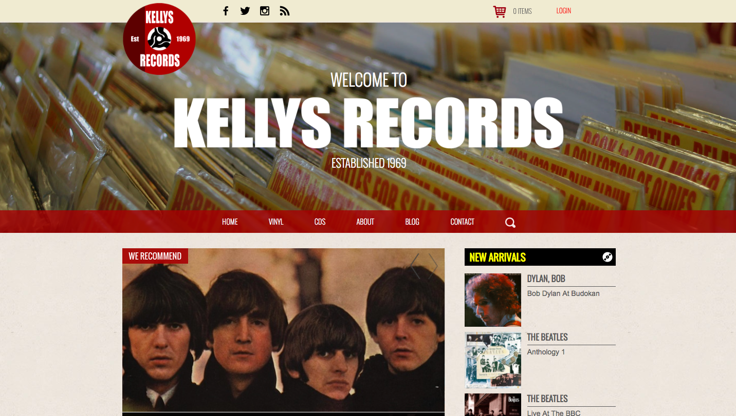Record Store Day - Kelly's Records