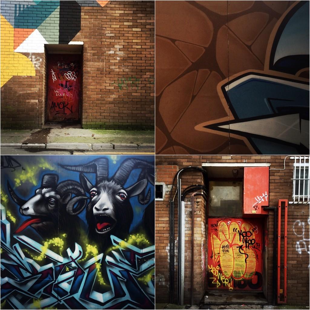 Diptic graffiti