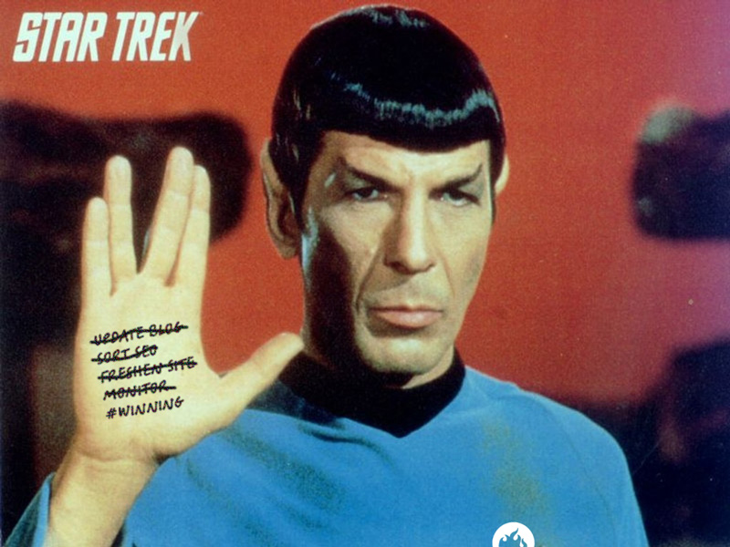 Live long, prosper and monitor
