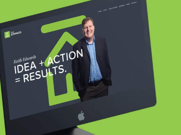 Keith Edwards - branding and website design for Cardiff policy specialist
