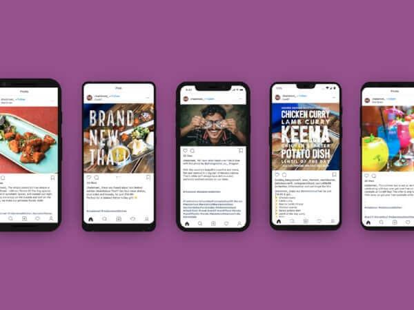 Chai street, Cardiff - website and digital