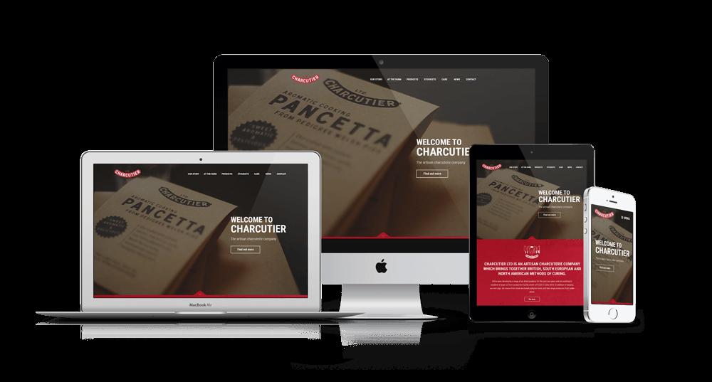 Small business website design and development service