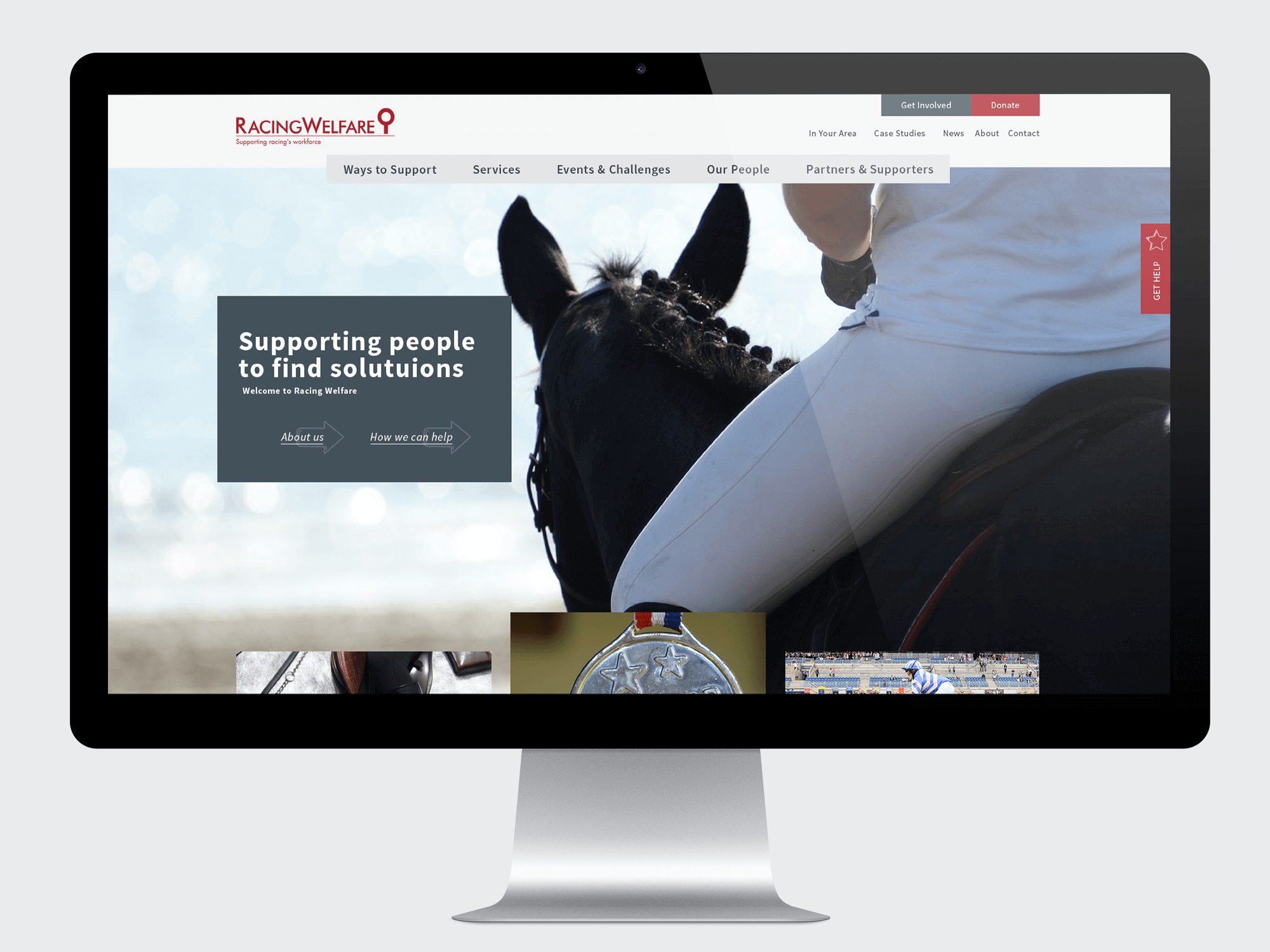 Racing Welfare - Charity website