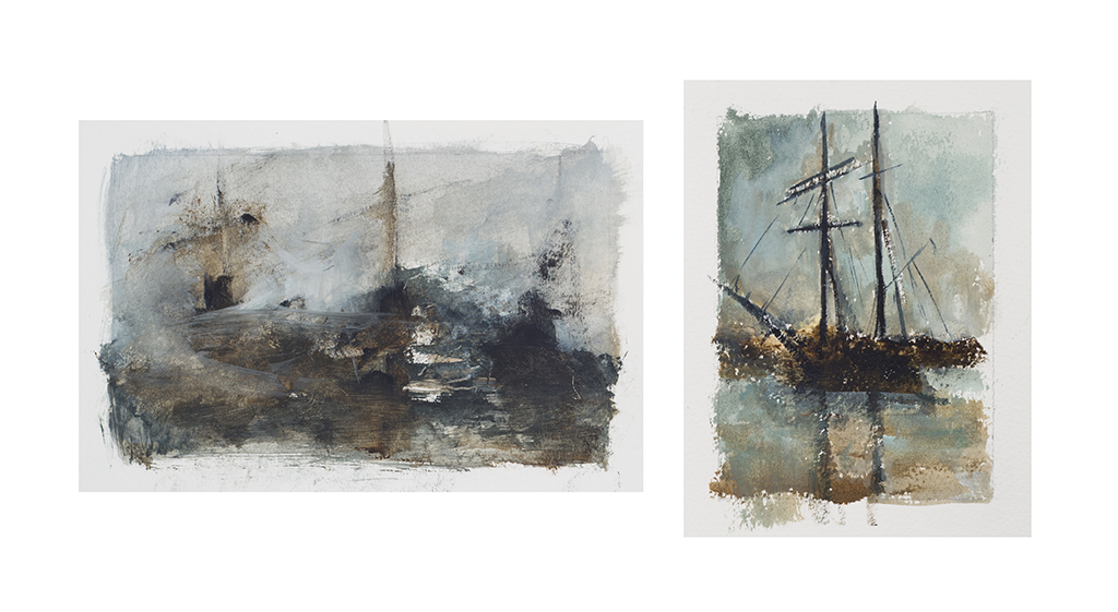 Series of Studies on the Sea no 18, Brisons Veor (UK)