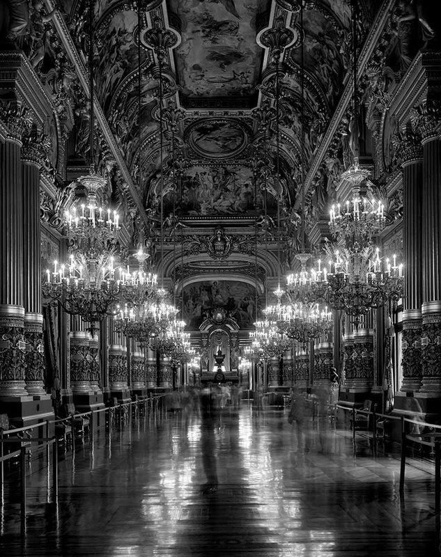Le Grand Foyer, Opera de Paris - Palais Garnier