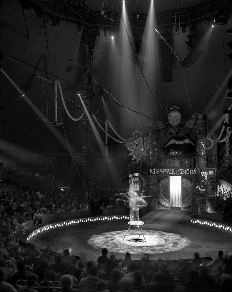Contortionist, Big Apple Circus, New York City