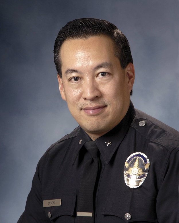 Commander Blake Chow  Assistant Commanding Officer Operations-West Bureau Los Angeles Police Department