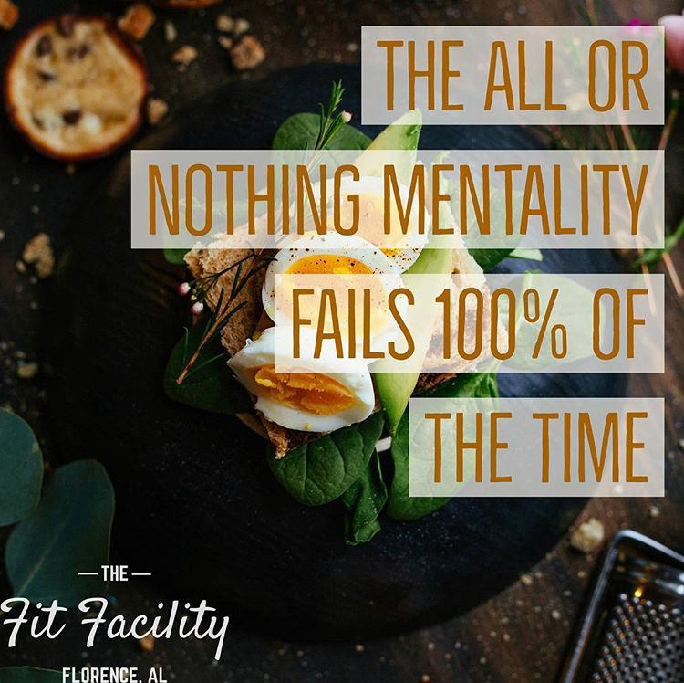 The Fit Facility | All Or Nothing Mentality | Jamie Dixon | Gym | Florence | Alabama | .jpeg